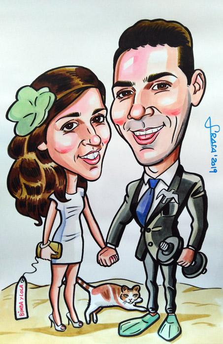 Caricaturas para particulares en 1 hora: Magdalena
