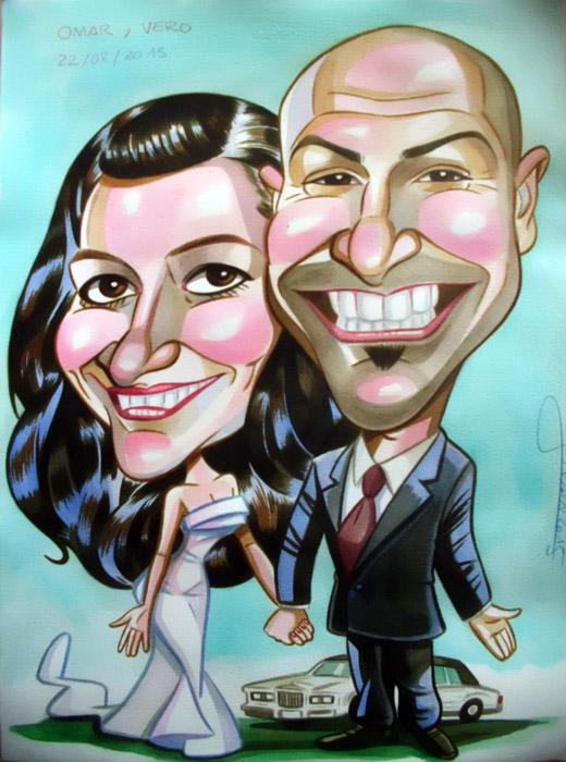 Caricatura personalizada para Rafael