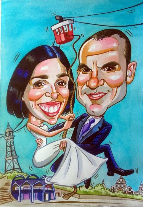 Caricatura personalizada para Sofia