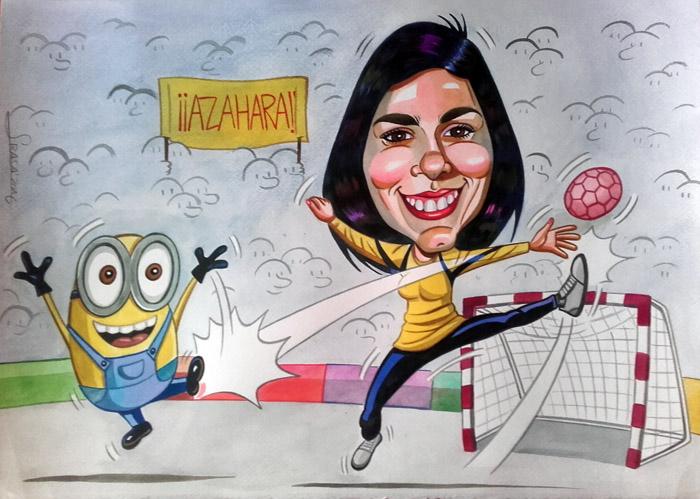 Caricatura personalizada para José Antonio