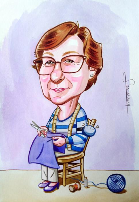 Caricaturas personalizadas online para regalos personalizados originales y divertidos (Ivan)