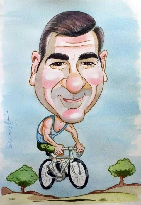 Caricatura de Juanfran