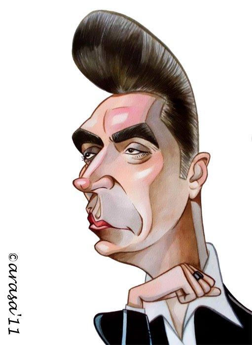 Caricatura de Loquillo