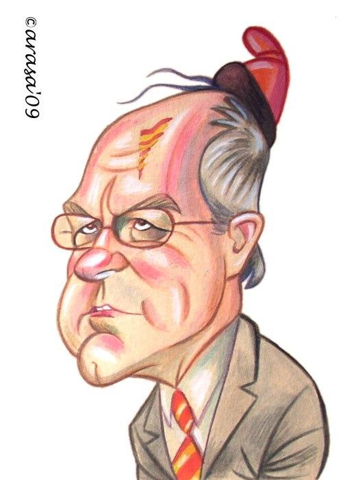 Caricatura de Josep Montilla