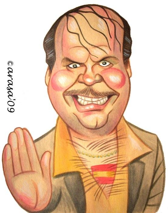 Caricatura de Santiago Segura
