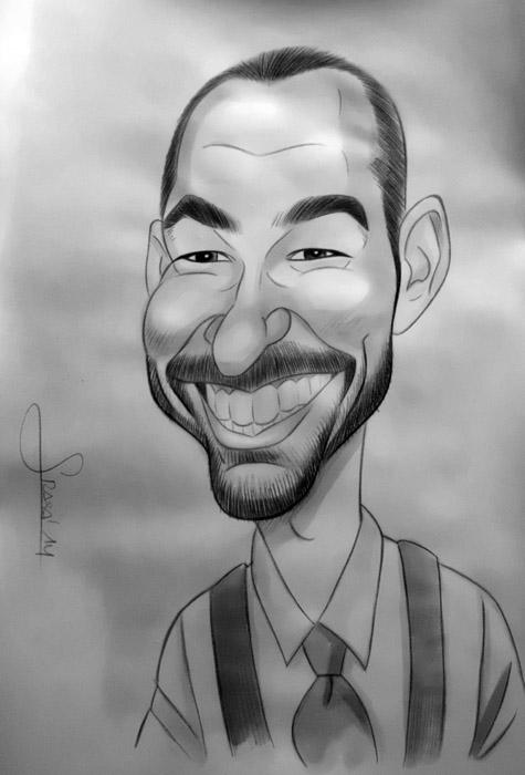 Caricatura de Fernanda
