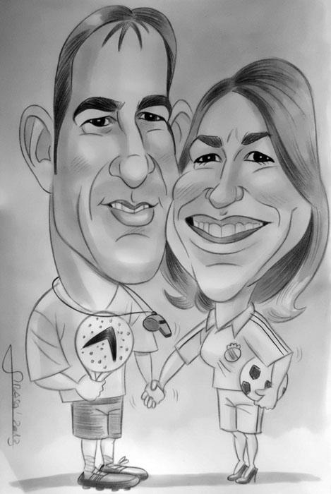 Caricatura de Selene