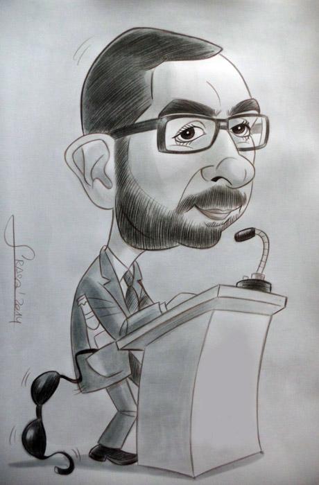 Caricatura para Sandra