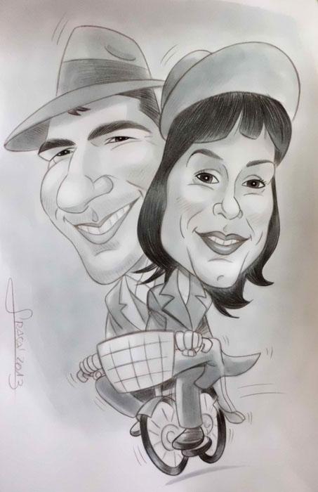 Caricatura de Sergio