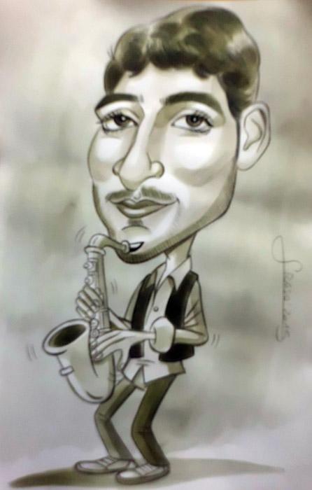 Caricatura personalizada para Guadalupe