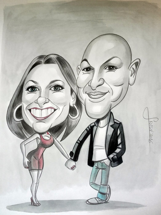 Caricatura personalizada para Ruben