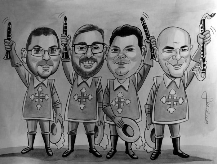 Caricaturas personalizadas online para regalos personalizados originales y divertidos (Fabiola)