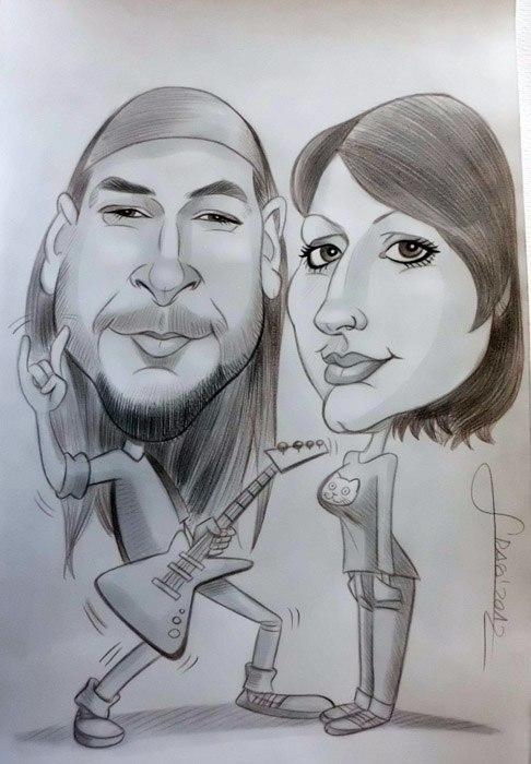 Caricatura de Rikardo