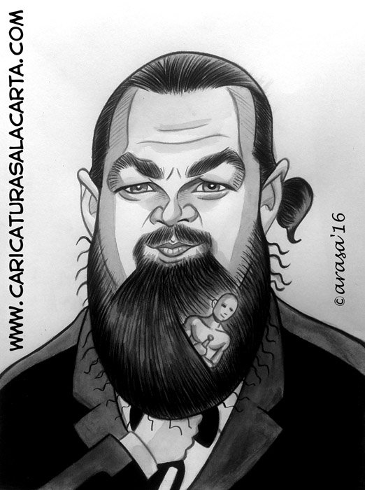 Caricaturas de famosos: Leonardo DiCaprio