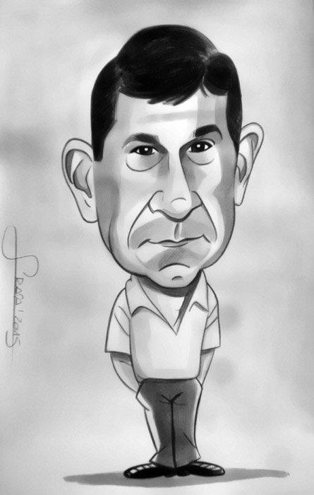 Caricatura personalizada para Cristina