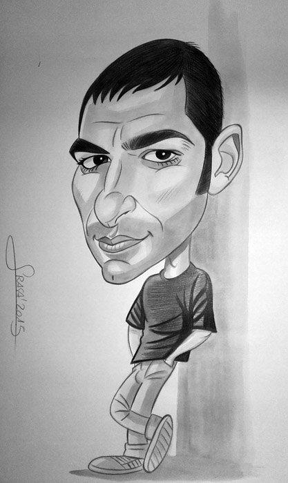 Caricatura de Juanjo