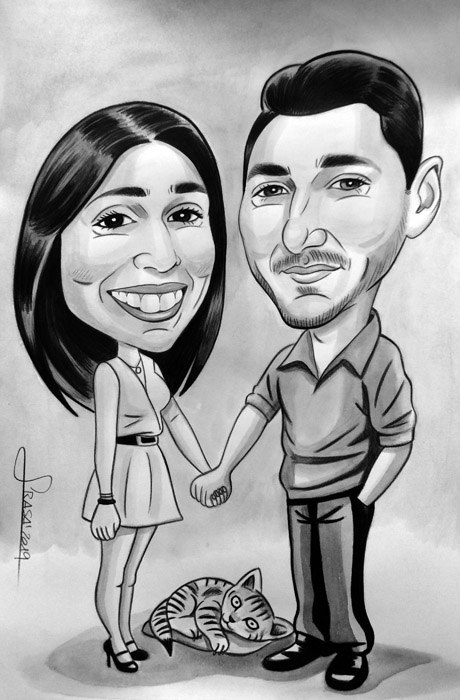 Caricaturas personalizadas para regalos originales y divertidos: Susana