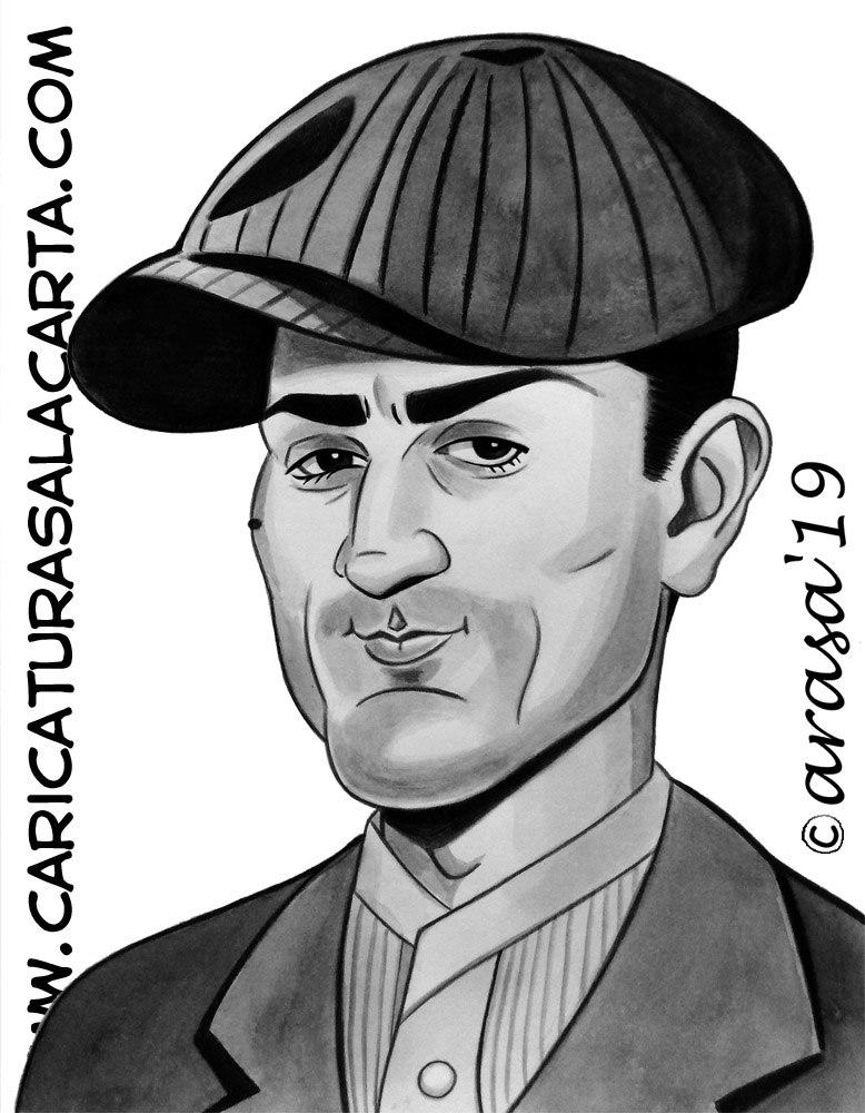 Caricaturas personalizadas y de famosos: Robert De Niro