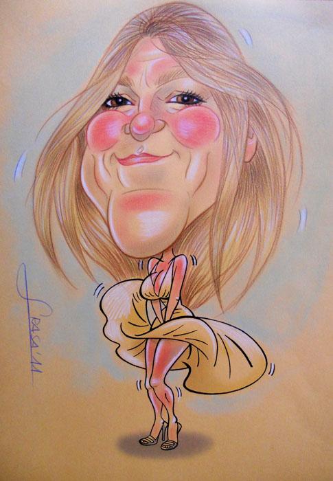 Caricatura de Mariam