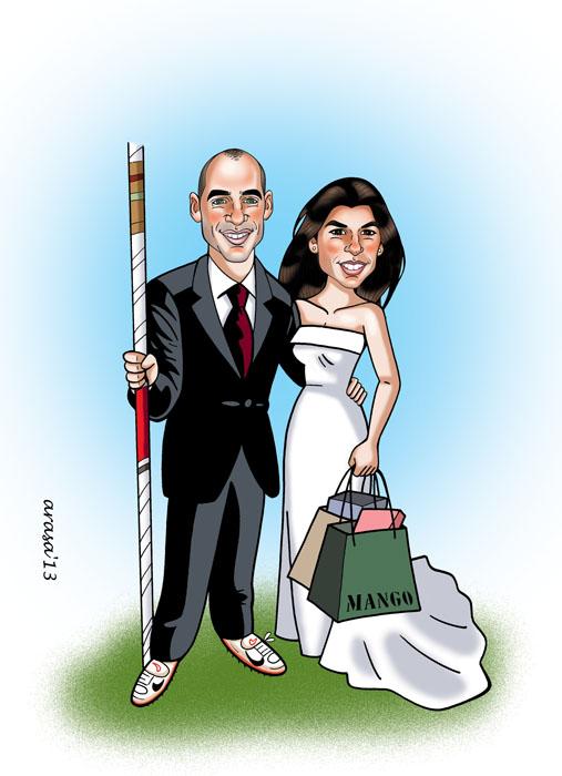 Caricatura de Xavier