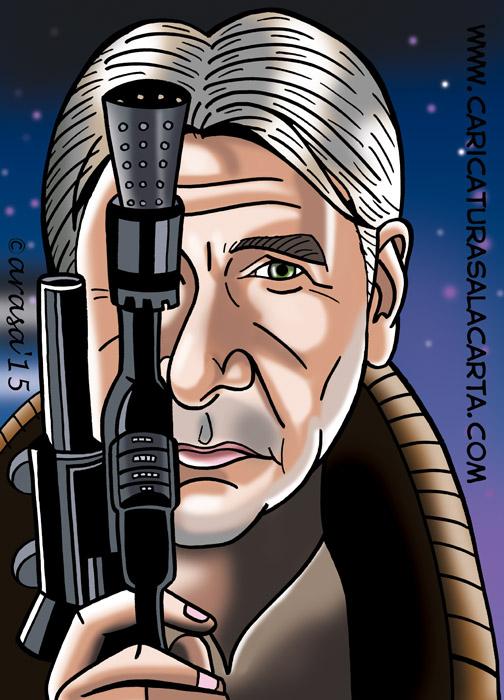 Caricaturas de Star Wars: Han Solo
