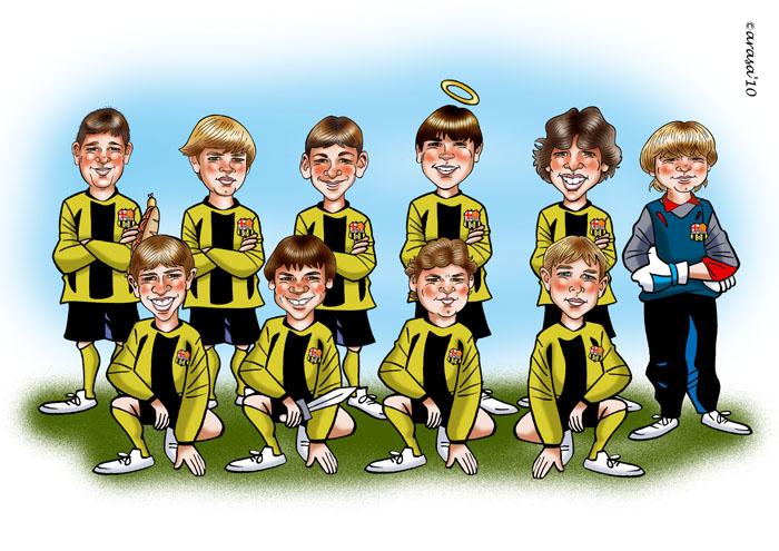 Grupo fútbol