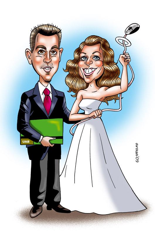 Caricatura de Marc