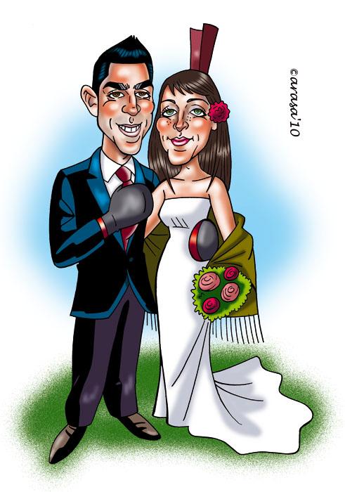 Caricatura de Sonia