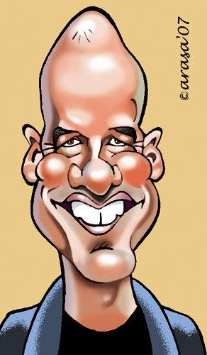 Caricatura de Alfonso Arus