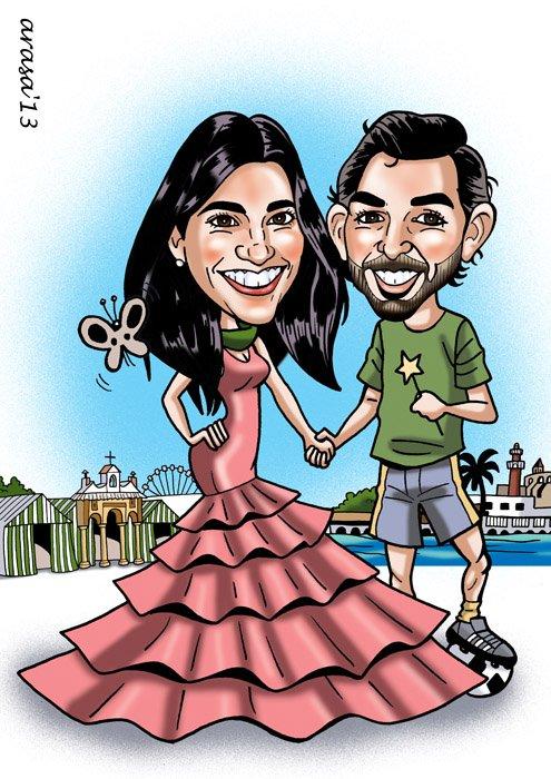 Caricatura de Manuel
