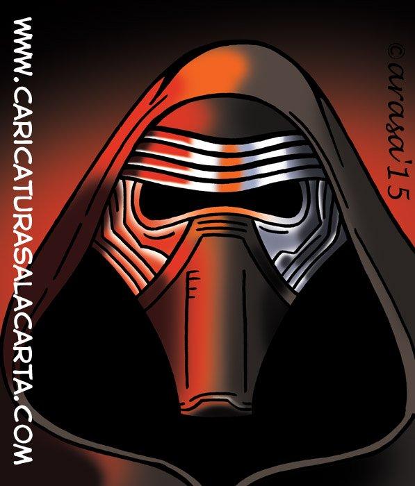Caricaturas de Star Wars: Kylo Ren