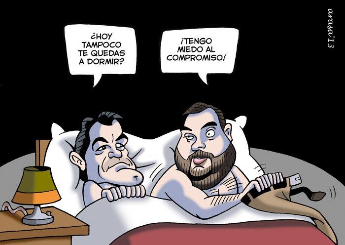 Caricatura de Artur Mas, Oriol Junqueras