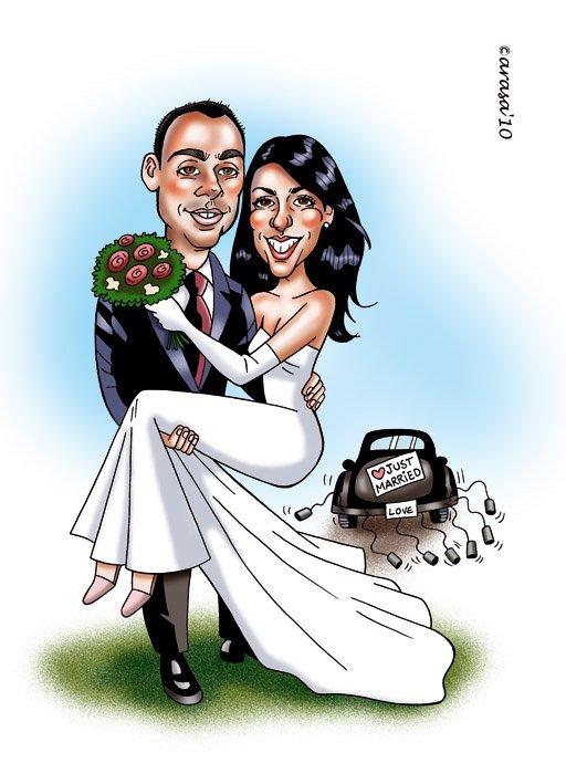 Caricatura de Nuria