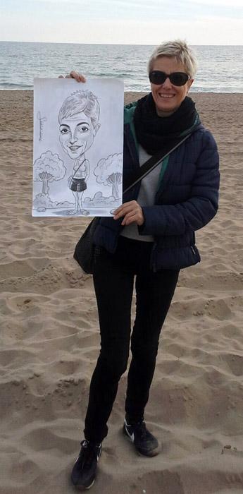 Caricatura para Mar