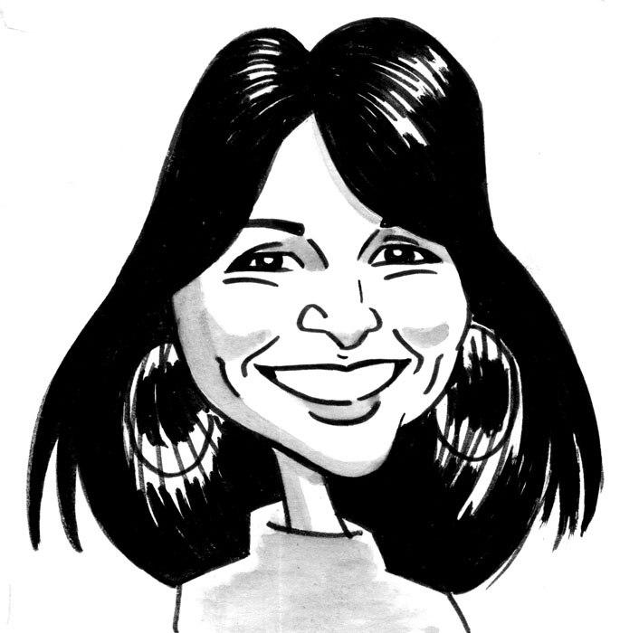 Caricatura de Graciela