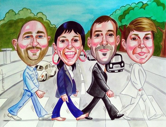 Caricaturas personalizadas online para regalos originales y divertidos (Carlos)