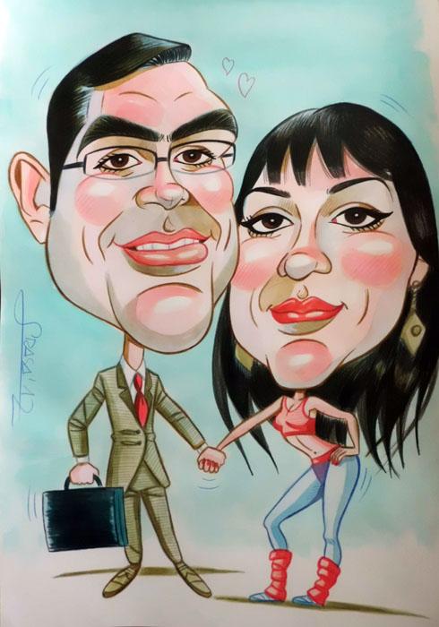 Caricatura de Juan Carlos