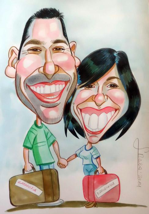 Caricatura de Lorena