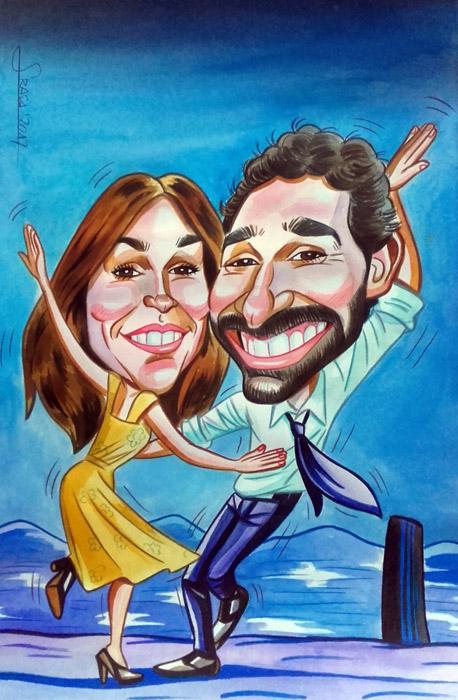 Caricaturas personalizadas para particulares: Diego