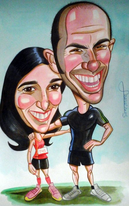 Caricaturas personalizadas para particulares: Patricia