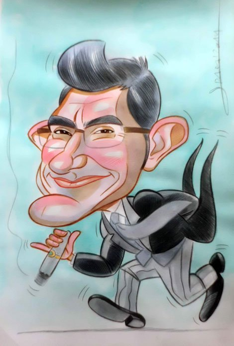 Caricatura de Manel