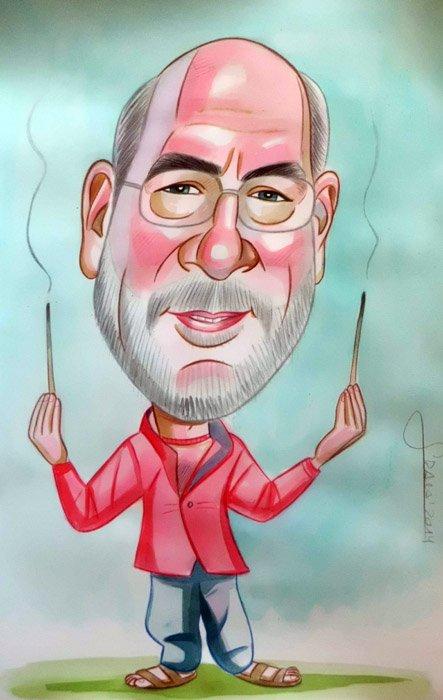 Caricatura Ricardo
