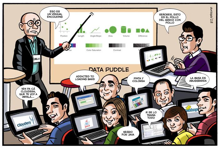 Viñeta digital personalizada tipo cómic para Virginia