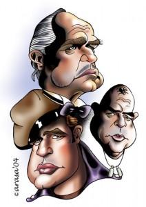 Caricatura de Marlon Brando