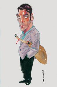 Caricatura Javier Bardem