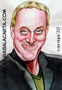 Caricatura de Josep Maria Mainat